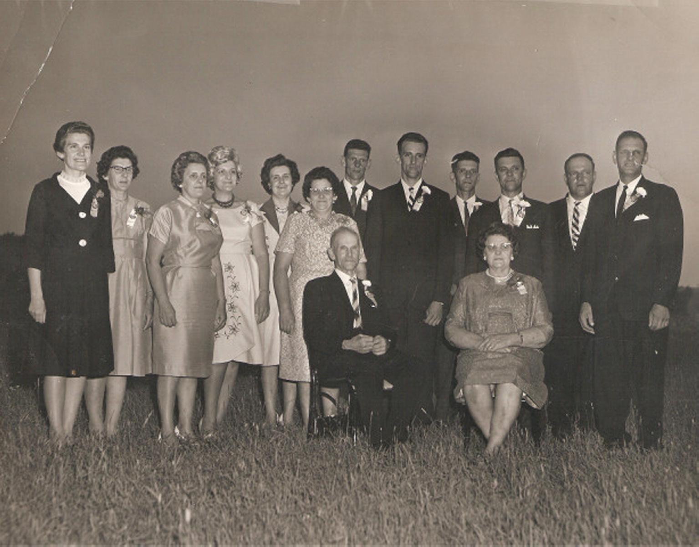 Famille Wilfrid Arbour et Marie-Anne Gilbert